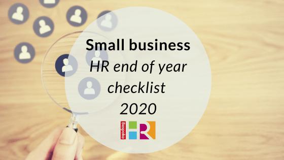 Small business HR checklist