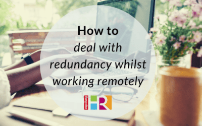 How to deal with redundancy whilst working remotely