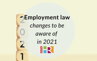 Employment law changes to be aware of in 2021