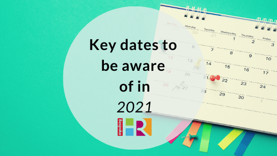Key dates to be aware of in 2021