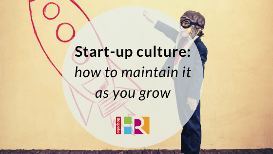 How to maintain start-up culture