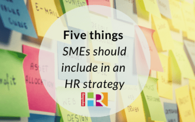 Five things SMEs should include in an HR strategy