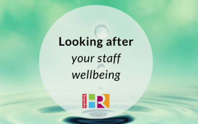 Looking after your staff wellbeing