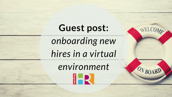 Onboarding new hires in a virtual environment