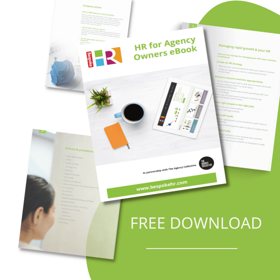 eBook HR for agency owners