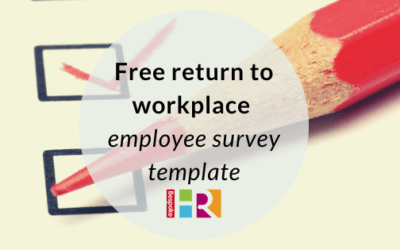 Return to workplace employee survey template