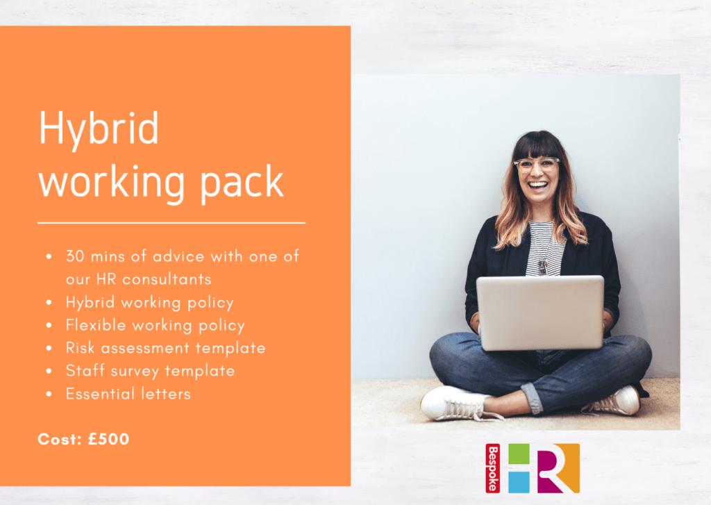 Hybrid working pack