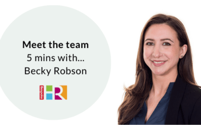 Meet the team: 5 mins with Becky Robson