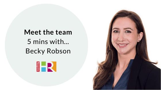 meet the team Becky Robson