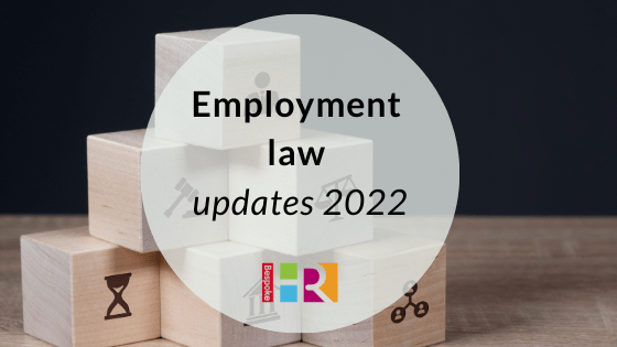Blog header for employment law updates
