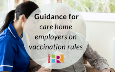 Guidance for care home employers on vaccination rules
